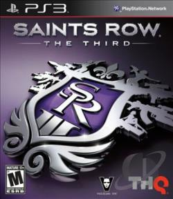 Saints Row: The Third PS3 Cover Art