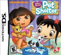 Dora & Kai-lan's Pet Shelter NDS Cover Art