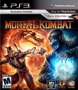 Mortal Kombat PS3 Cover Art