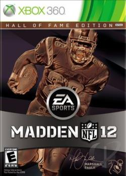 Madden NFL 12: Hall of Fame Edition XB360 Cover Art