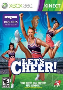 Let's Cheer! XB360 Cover Art