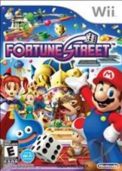 Fortune Street WII Cover Art