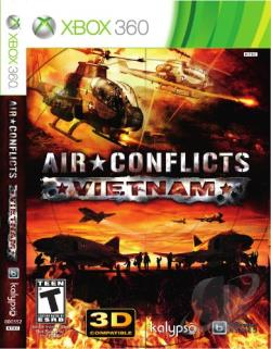 Air Conflicts: Vietnam XB360 Cover Art