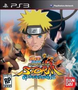 Naruto Shippuden: Ultimate Ninja Storm Generations PS3 Cover Art