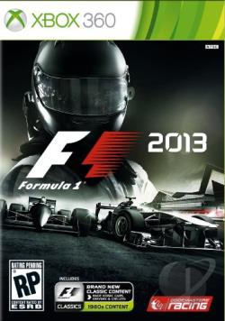 F1 2013 XB360 Cover Art