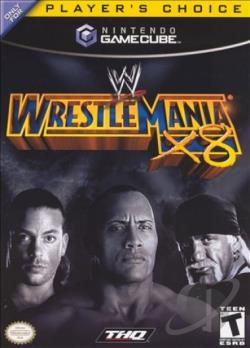 WWE Wrestlemania X8 GQ Cover Art