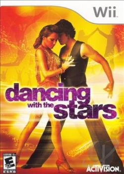 Dancing With the Stars WII Cover Art