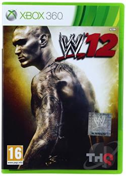 WWE '12 XB360 Cover Art