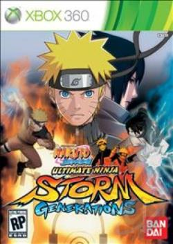 Naruto Shippuden: Ultimate Ninja Storm Generations XB360 Cover Art