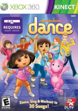 Nickelodeon Dance XB360 Cover Art