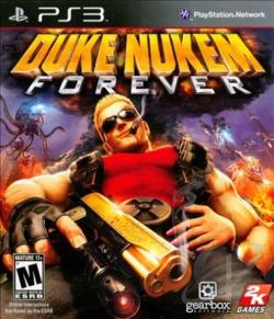 Duke Nukem Forever PS3 Cover Art