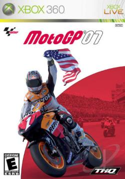 MotoGP '07 XB360 Cover Art