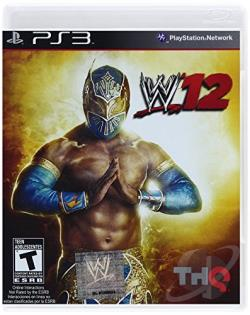 WWE '12 PS3 Cover Art
