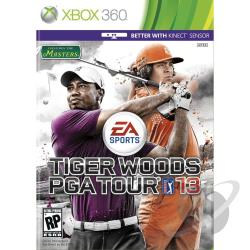 Tiger Woods PGA Tour 13 XB360 Cover Art