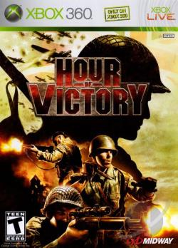 Hour of Victory XB360 Cover Art