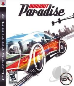 Burnout Paradise PS3 Cover Art