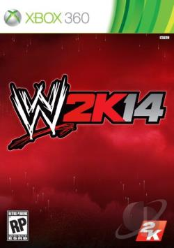 WWE 2K14 XB360 Cover Art