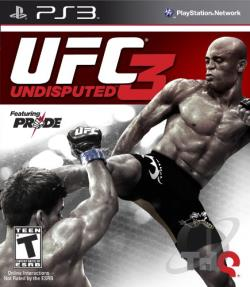 UFC Undisputed 3 PS3 Cover Art