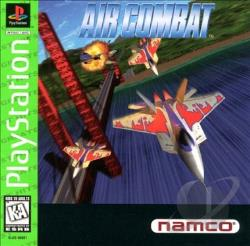 Air Combat PS Cover Art
