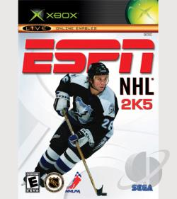 ESPN NHL 2K5 XB Cover Art