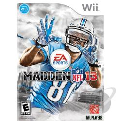 Madden NFL 13 WII Cover Art
