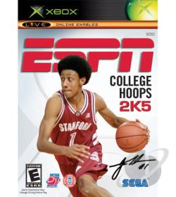 ESPN College Hoops 2K5 XB Cover Art