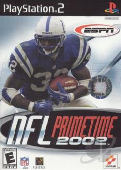 ESPN NFL Prime Time 2002 PS2 Cover Art
