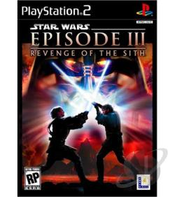 Star Wars: Episode III: Revenge of the Sith PS2 Cover Art