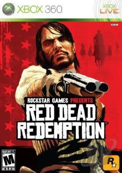 Red Dead Redemption XB360 Cover Art