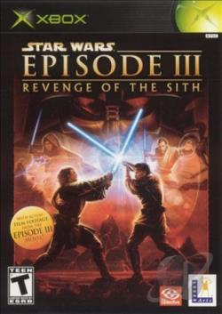 Star Wars: Episode III: Revenge of the Sith XB Cover Art