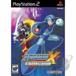 Mega Man X Collection PS2 Cover Art