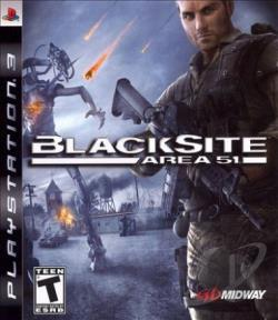 BlackSite: Area 51 PS3 Cover Art