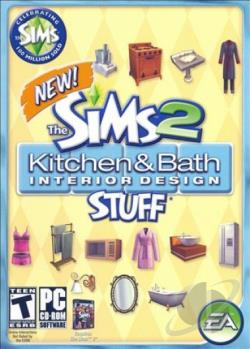 Sims 2: Kitchen & Bath Interior Design Stuff PCG Cover Art