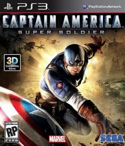 Captain America: Super Soldier PS3 Cover Art