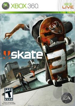 Skate 3 XB360 Cover Art