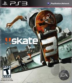 Skate 3 PS3 Cover Art