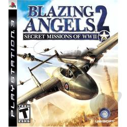 Blazing Angels 2: Secret Missions of WWII PS3 Cover Art