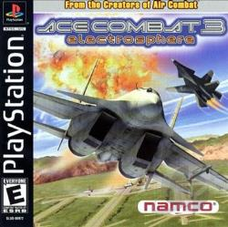 Ace Combat 3: Electrosphere PS Cover Art