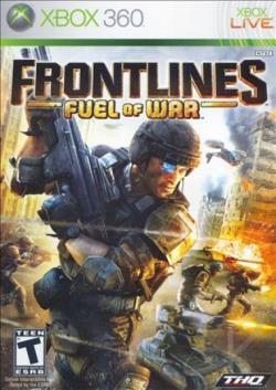 Frontlines: Fuel Of War XB360 Cover Art