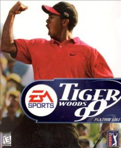 Tiger Woods Pga Tour Golf 99 W95 Cover Art