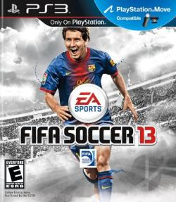 FIFA Soccer 13 PS3 Cover Art