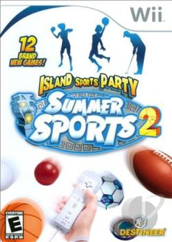 Summer Sports 2: Island Sports Party WII Cover Art
