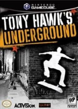 Tony Hawk Underground w/Tag PC GQ Cover Art