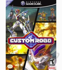 Custom Robo Battle Revolution GQ Cover Art