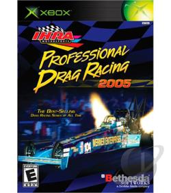 IHRA Professional Drag Racing 2005 XB Cover Art