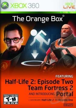 Orange Box XB360 Cover Art