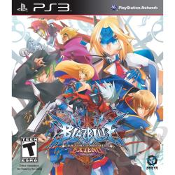 BlazBlue: Continuum Shift Extend PS3 Cover Art