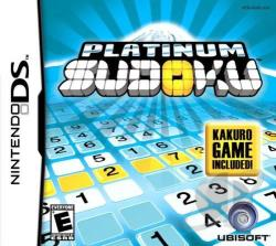 Platinum Sudoku NDS Cover Art