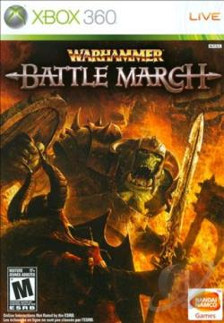 Warhammer: Battle March XB360 Cover Art