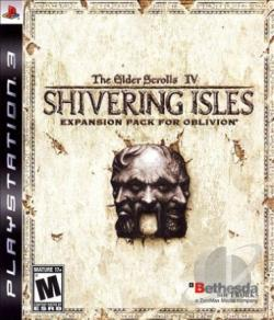 Elder Scrolls IV: Shivering Isles PS3 Cover Art